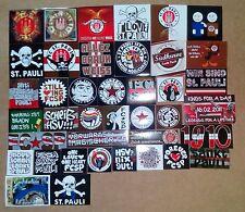 40 Aufkleber Fanszene Sankt Pauli Sticker Ultra USP Skinheads k. Seidenschal St.