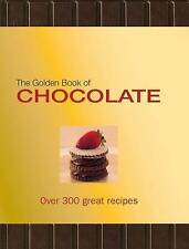 LK NEW The Golden Book of Chocolate: Over 300 Great Recipes by Carla Bardi
