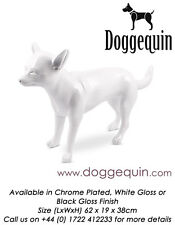 Taille de vie doggequin chien mannequin animal familier shop display mannequins Beatrice GW
