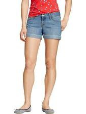 "AUTH. BNWT OLD NAVY WOMENS DIVA CUFFED DENIM SHORTS (3 1/2"") SZ.6 (M-L)"