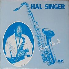 HAL SINGER 'SWING ON IT' UK LP