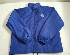 Vintage USA Olympic Blue w/ White Rings Windbreaker Jacket XL Lined