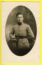 cpa CARTE PHOTO Valck à NANCY MILITAIRE SOLDAT en UNIFORME du 18e Régiment