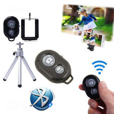 3 in 1 Tripod Holder Mount Bluetooth Selfie Remote Shutter For iPhone Samsung mh