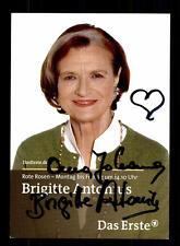 Brigitte Antonius Rote Rosen Autogrammkarte Original Signiert # BC 92850