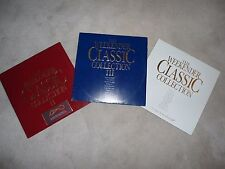 The Weekender Classic Collection I + II + III THREE DOUBLE LP compilation