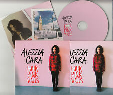 ALESSIA CARA Four Pink Walls EP 2015 UK 5-track promo CD