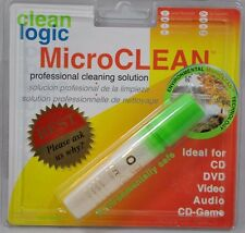 NEW Clean Logic MicroClean Professional Cleaning Solution CD DVD Video Audio