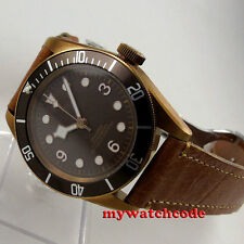 41mm corgeut coffee sterile dial PVD Sapphire Glass miyota automatic mens Watch
