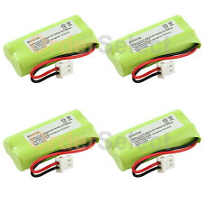 4 New Home Phone Battery 350mAh NiCd for AT&T BT166342 BT266342 TL32100 TL90070