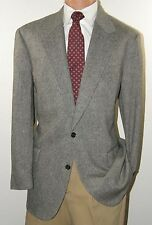 Brooks Brothers Classic Herringbone Modern Fit Sport Coat Blazer 44R 44 R J1224