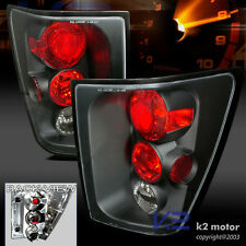 2005 2006 Jeep Grand Cherokee Black Tail Lights Lamp
