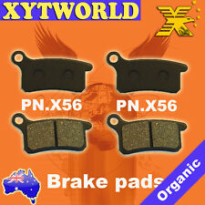 Front Rear Brake Pads for KTM SX 85 2003-2010