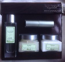 Laura Mercier Verbena Infusion 4 PC Set Verbene Fragrance, Cream, Scrub, Balm NW