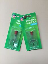Lot of 2 - Rite Aid Eyeglass Repair Kits - New in Package - Free Ship !