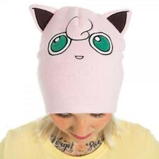 POKEMON Licensed Deluxe I Am JIGGLYPUFF Big Face HAT Costume PROP Winter COSPLAY