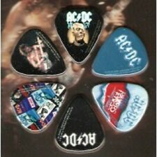 AC/DC Officially Licensed Guitar Picks 6 Pack Collectible Perri's #LP-AD3