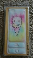 Kawaii cat adorable ice cream cone iphone 5/5s protective sticker case