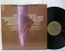"""BALLET MUSIC FROM """"AIDA"""" & """"FAUST"""", EUGENE ORMANDY, COLUMBIA STEREO M 31238"""