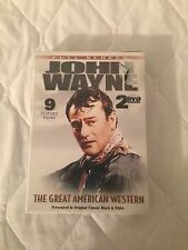 John Wayne 9  feature films on 2 DVD set. Brand New in Case
