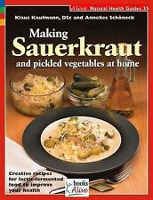 Making Sauerkraut and Pickled Vegetables at Home: Creative Recipes for Lactic Fe