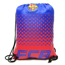 FC BARCELONA FCB NEW FADE DESIGN GYM BAG PE SCHOOL SWIMMING SPORT XMAS GIFT