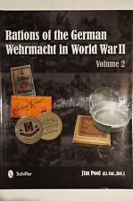WW2 German Rations of the Wehrmacht in World War II Vol.2 Reference Book