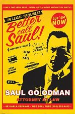 Better Call Saul Poster - Saul Attorney at Law - Breaking Bad prequel TV poster