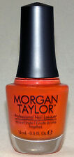 Morgan Taylor Nail Polish: (Candy Coated Coral) .5oz # 50024