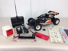 RARE Vtg 1984 YONEZAWA Wavehunter THUNDER RC Car SET Toy R/C JAPAN Remote 80s