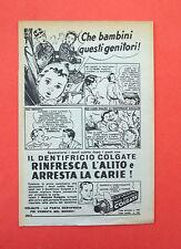 D174 - Advertising Pubblicità - 1953 - COLGATE DENTIFRICIO IN PASTA