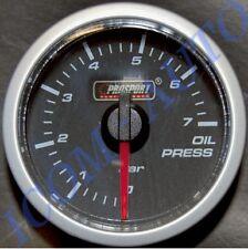 MANOMETRE PRESSION D HUILE PRO-SPORT ECLAIRAGE LED 2 COULEURS 52MM