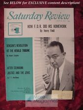 Saturday Review July 8 1961 THEODORE H. WHITE HENRY FIELD T. S. MATTHEWS