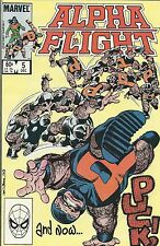 Alpha Flight comic issue 5