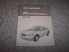 2007 Lexus ES350 ES 350 Factory Original Electrical Wiring Diagram Manual Book