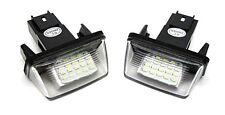 Für Peugeot 206 207 306 307 406 407 LED Kennzeichen Beleuchtung Nummernschild-