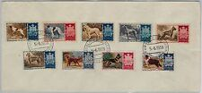 Animals : DOGS - SAN MARINO -   POSTAL HISTORY - 1956 STAMPS COVER