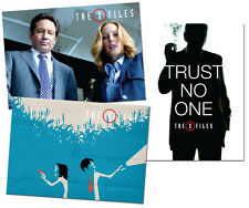 PROMO X-Files Revival 3 cards Fox Mulder Dana Scully Cigarette Smoking Man