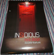 CAST SIGNED 7X AUTOGRAPHED INSIDIOUS MOVIE POSTER 27X40 SS JAMES WAN HORROR