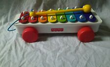 Fisher-Price Classic XYLOPHONE Musical Pull A Tune Kids Toddler Preschool TOY