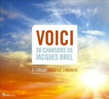Voici: 30 Songs of Jacques Brel, New Music