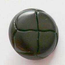 10 x FOOTBALL STYLE BLACK ARAN BUTTONS SIZE 32 (20MM) free P&P uk