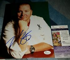 Mario Batali (Chef)Signed 8x10 in person JSA CERTIFIED