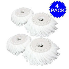 Lot Of 4 Replacement Mop Micro Head Refill Hurricane For 360° Spin Magic Mop New