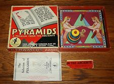 Pyramids A Problem for the Ancients - Very old logic game - Complete Very Cool