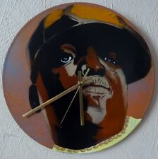 BIGGIE SMALLS inspiredrecord wall clock,,DAFT PUNK,PRODIGY,EMINEM,TUPAC,kayne