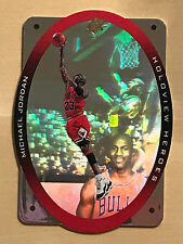 Michael Jordan 1996 SPX Holoview Heroes #H1. MINT. Chicago Bulls
