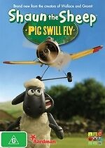 Shaun the Sheep: Pig Swill Fly * NEW DVD *
