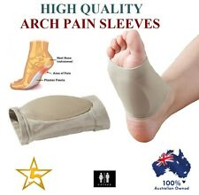 GEL Plantar Fasciitis ARCH Support Sleeve Cushion Foot Pain Heel Insole Orthotic