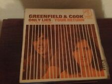 "GREENFIELD & COCK SPANISH 7"" SINGLE SPAIN ONLY LIES 1971"